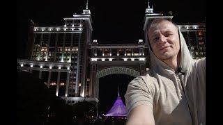 Ночная Астана. Бензин 30 рублей и откровения таксиста!