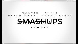 DRUMNDIRTY SMASHUPS VS Calvin Harris Diplo Grand Theft Remix