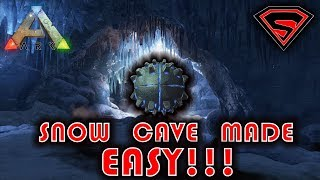 THE ISLAND SNOW CAVE & ARTIFACT MADE EASY!!! | SNOW CAVE & ARTIFACT OF THE STRONG WALKTHROUGH!