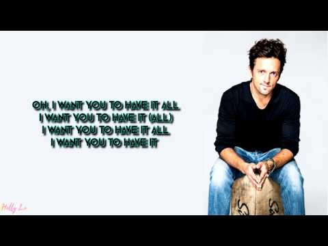 Jason Mraz - Have It All (with LYRICS)