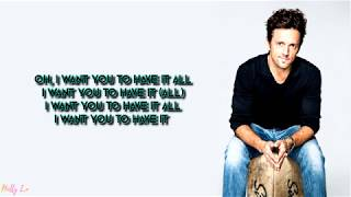 Jason Mraz   Have It All (with LYRICS)