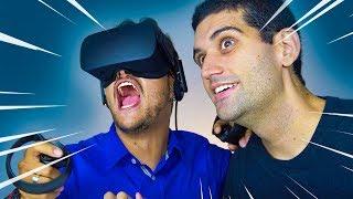 O Mundo da REALIDADE VIRTUAL - Unboxing Oculus Rift + Touch