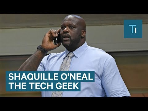 How Shaquille O'Neal Became a Tech Geek