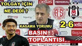 Antalyaspor 2-6 Beşiktaş Şenol Güneş Maç Sonu Basın Toplantısı 3 Şubat 2019
