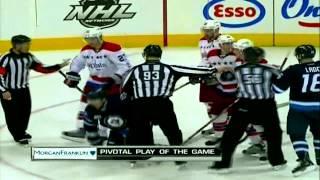 "HD- Winnipeg Jets fans chant ""Crosby's better"" at Ovechkin"