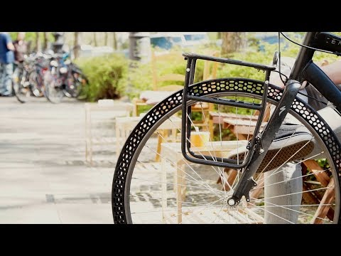 3D-Printed Bike Tires | The Henry Ford's Innovation Nation
