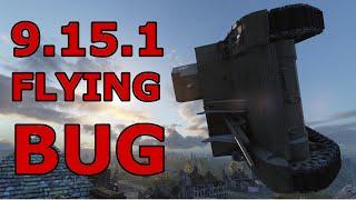 World of Tanks - 9.15.1 Ruinberg flying bug! [EWS]