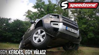 Speedzone Teszt: Land Rover Defender 110 P400 First Edition: Egy Kérdés, Egy Válasz