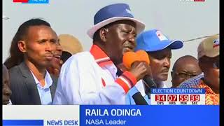 NASA leader Raila Odinga sends harsh warning to IEBC CEO Ezra Chiloba to vacate office or else