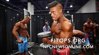 2017 IFBB Mens Physique Olympia Backstage Pt.1