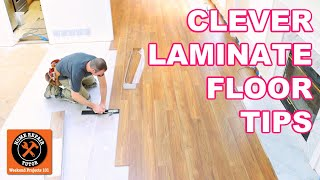 Laminate Floor Installation For Beginners | 9 Clever Tips
