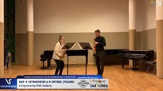 DUO P. CETNAROWSKI & M. GYMREK play 6 Caprices by P.M. Dubois