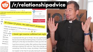 British Priest Gives Relationship Advice on Reddit?!