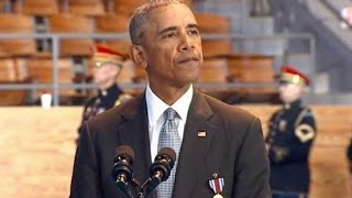 Full event. President Obama speech at Armed Forces Farewell Ceremony. Jan. 4, 2017.