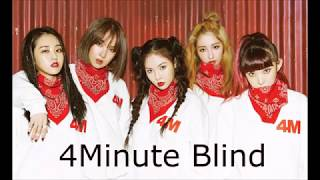 4Minute - Blind [Line Distribution]