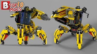HALF-LIFE WALKER ROBOT?! | TOP 10 MOCs of the Week