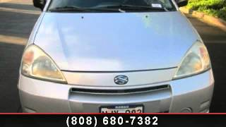 preview picture of video '2004 Suzuki Aerio - Tony Group Autoplex - Waipahu, HI 96797'