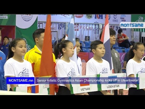 Senior Artistic Gymnastics Asian Championship kicks off in Ulaanbaatar