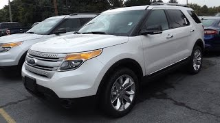2015 Ford Explorer XLT 3.5L V6 4X4 Start Up, Tour, and Review