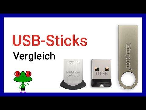 Mini USB-Stick Vergleich (SanDisk Cruzer Fit, Ultra Fit und Kingston DataTraveler)