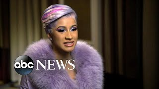 Cardi B opens up about balancing work and motherhood | GMA