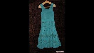 Crochet Patterns| For Free |vintage Crochet Baby Dress Pattern| 2334