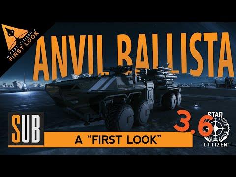 Anvil Ballista | A Star Citizen's First Look | Alpha 3.6