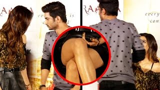 Sushant Singh Rajput Saves Kriti Sanon From WARDROBE MALFUNCTION | Throwback Video