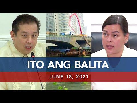 [UNTV]  UNTV: ITO ANG BALITA | June 18, 2021