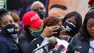 video: Breonna Taylor's mother says lack of charges for her killing show 'no justice for black people in America'