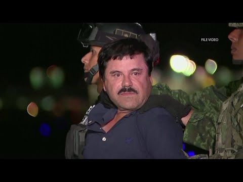 "Notorious mexican drug lord Joaquin ""El Chapo"" Guzman has been convicted of drug-trafficking charges at a trial in New York. (Feb. 12)"