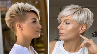 Hair Trends 2019 | 10 New Coolest Short & Pixie Haircut For Women | Hairstyle & Transformation GRWM