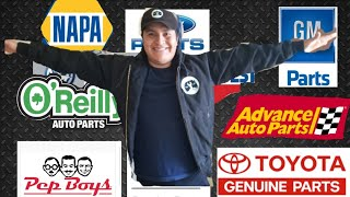 Which auto parts store is the best? For mobile automotive repair mechanics