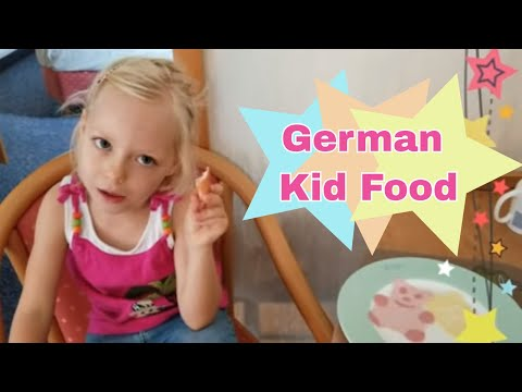 Germany: Trip to the Grocery & Fun Kid's Foods
