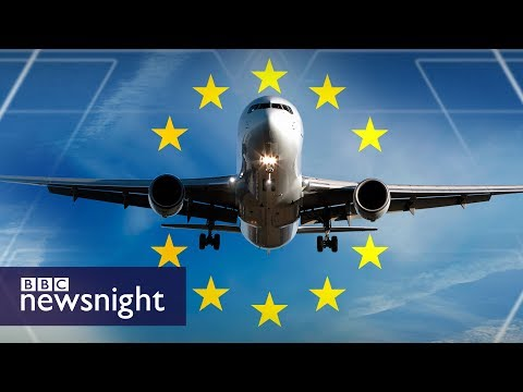 What will Brexit mean for flights and the airline industry? - BBC Newsnight