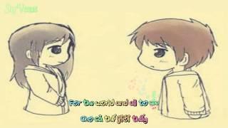 Please Be Careful With My Heart ll Christian Bautista - Lyrics [ HD KaraAmine+Việtsub ]