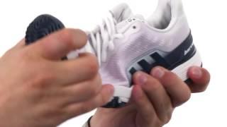 Adidas Barricade 2016 Junior Tennis Shoes video