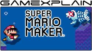 Super Mario Maker - How Enemies & Objects Change Underwater