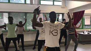 FUSE ODG   NO DAY LIGHT DANCE ROUTINE