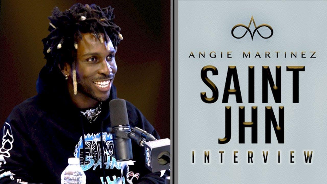 SAINt JHN on The Angie Martinez Show