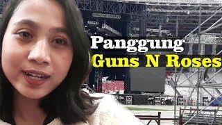 Mengintip Megahnya Panggung Guns N Roses Jelang Konser di Jakarta