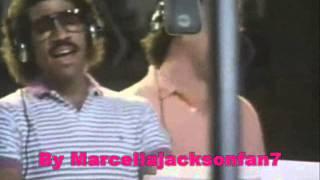 "Michael Jackson in studio ""State Of Independence""  (RARO)"