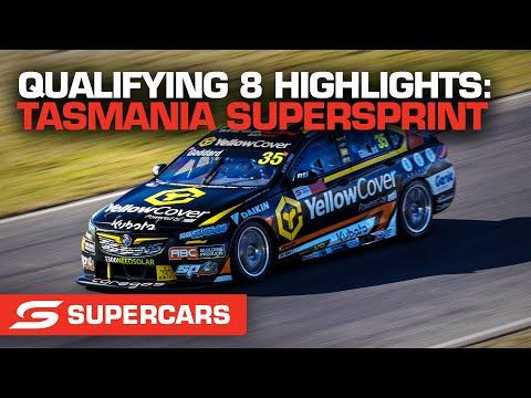 SUPERCARS 2021 タスマニアSuperSprint 予選8ハイライト動画