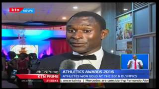 Olympic champions Eliud Kipchoge and Vivian Cheruiyot awarded for being athletes of the year