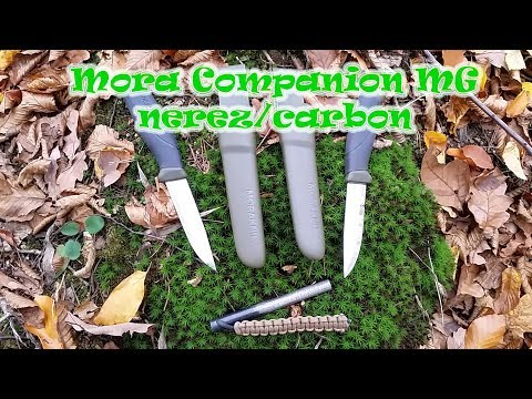 Recenze nože Mora Companion MG