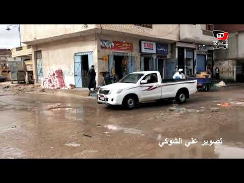 أمطار ورياح شديدة على مرسى مطروح