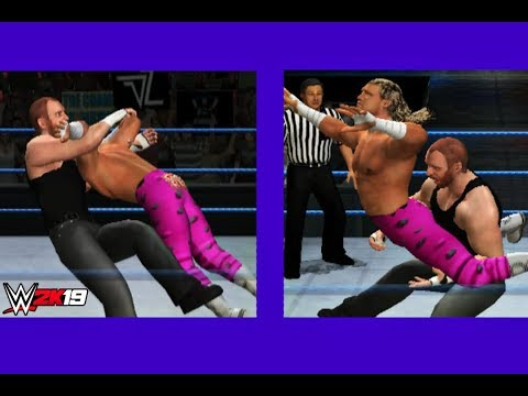 Download Dean Ambrose VS Dolph Ziggler WWE 2K19 PS2 HD Mp4 3GP Video and MP3