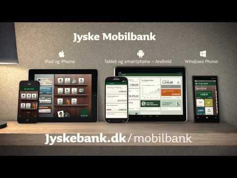 Video of Jyske Mobilbank