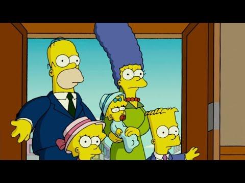Homer Simpson Worshipping a Shooting Star