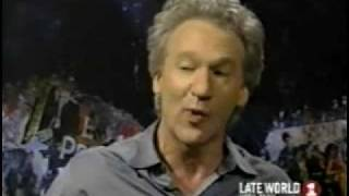 late world- real world with one and bill maher (part 3)